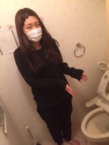 トイレつまり解消しました!